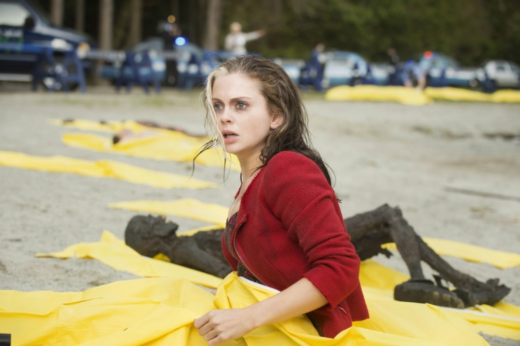 """iZombie -- """"Pilot"""" -- Image ZMB100G_0042 -- Pictured: Rose McIver as Liv - Photo: Cate Cameron/The CW -- © 2014 The CW Network, LLC.  All rights reserved."""