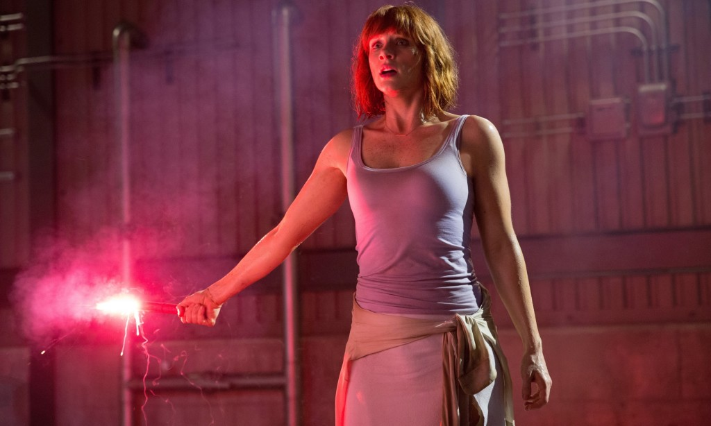 BRYCE DALLAS HOWARD Character(s): Claire Film 'JURASSIC WORLD' (2015) Directed By COLIN TREVORROW 10 June 2015 SAM51109 Allstar Picture Library/UNIVERSAL PICTURES **WARNING** This Photograph is for editorial use only and is the copyright of UNIVERSAL PICTURES  and/or the Photographer assigned by the Film or Production Company & can only be reproduced by publications in conjunction with the promotion of the above Film. A Mandatory Credit To UNIVERSAL PICTURES is required. The Photographer should also be credited when known. No commercial use can be granted without written authority from the Film Company. 1111z@yx