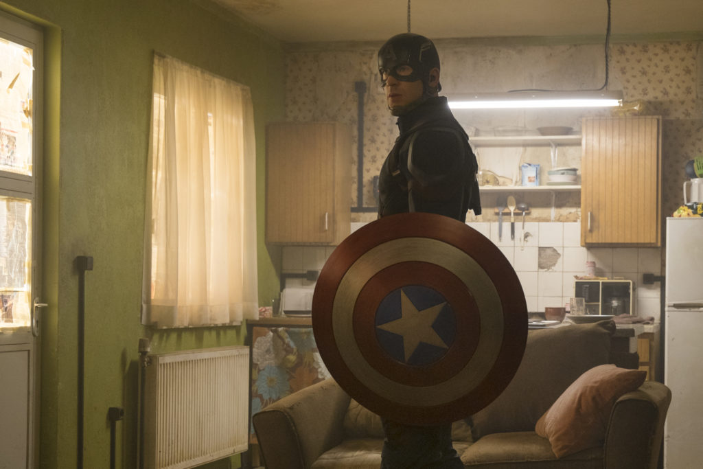 Marvel's Captain America: Civil War..Captain America/Steve Rogers (Chris Evans)..Photo Credit: Zade Rosenthal..? Marvel 2016