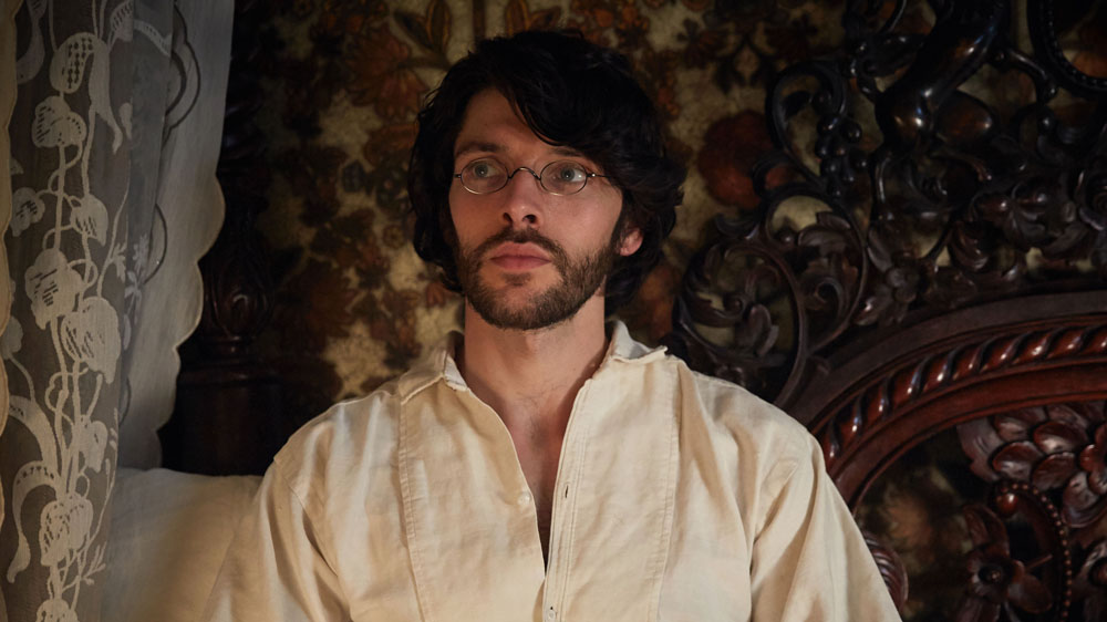 WARNING: Embargoed for publication until 00:00:01 on 15/06/2016 - Programme Name: The Living and the Dead - TX: n/a - Episode: n/a (No. 1) - Picture Shows:  Nathan Appleby (COLIN MORGAN) - (C) BBC - Photographer: Robert Viglasky