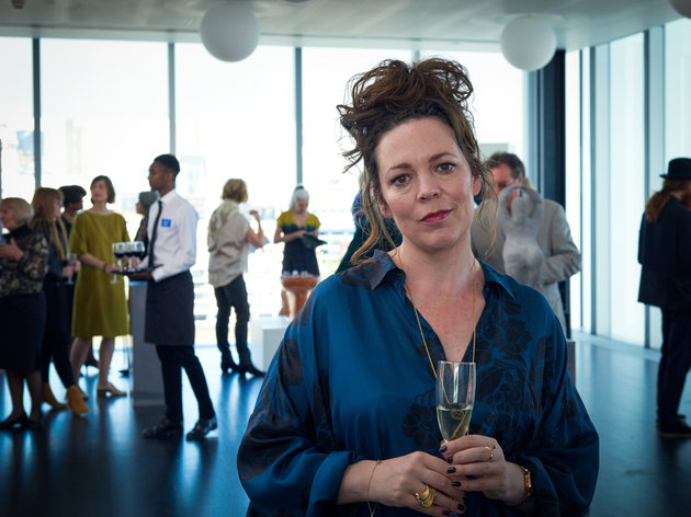 Programme Name: Fleabag - TX: n/a - Episode: n/a (No. n/a) - Picture Shows:  Godmother/Stepmother (OLIVIA COLMAN) - (C) Two Brothers Pictures Ltd. - Photographer: Hal Shinnie