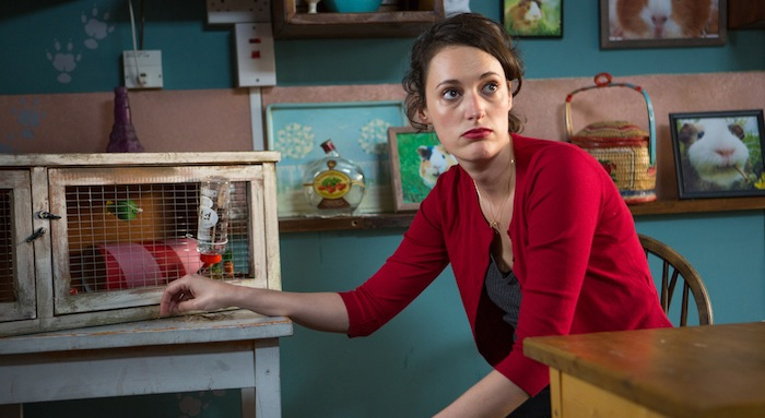 Programme Name: Fleabag - TX: n/a - Episode: n/a (No. 2) - Picture Shows: L-R Fleabag (PHOEBE WALLER-BRIDGE) - (C) Two Brothers Pictures Ltd. - Photographer: Luke Varley