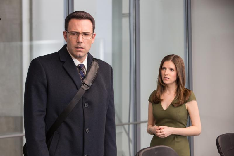 "Ben Affleck and Anna Kendrick star in a scene from the movie ""The Accountant.""  The Catholic News Service classification is O -- morally offensive. The Motion Picture Association of America rating is R -- restricted. Under 17 requires accompanying parent or adult guardian.(CNS photo/Warner Bros.) See MOVIE-REVIEW-THE-ACCOUNTANT Oct. 13, 2016."